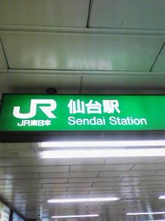 仙台にいます