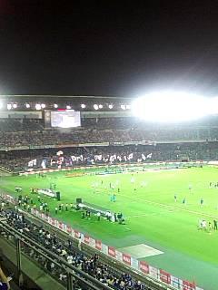 【キリンチャレンジカップ2010】〔日本×パラグアイ〕今、日産スタジアムにいます